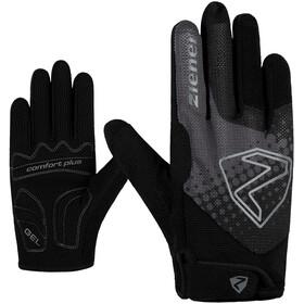 Ziener Colja Long Bike Gloves Kids, czarny